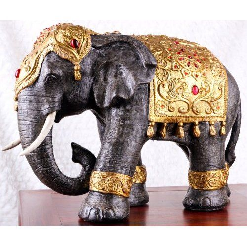 large thai style elephant figurine zen home decoration