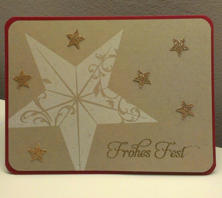 Stampin Up Wunderbare Weihnachtsgrüße.Never Too Early For Christmas Cards Stampin Up Chtistmas Star