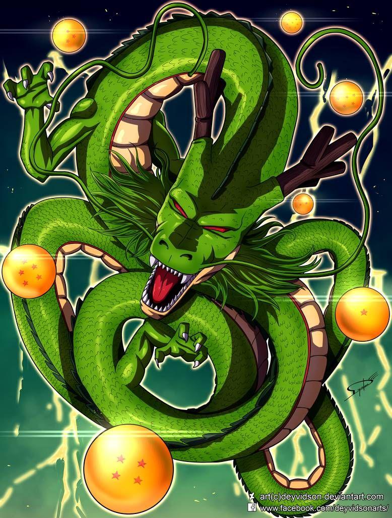 Commission Shenron Shenlong Dragon Ball Z By Deyvidson On Deviantart Dragon Ball Dragon Ball Z Shenron