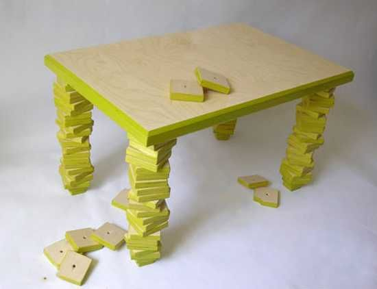 11 Unique Furniture Design Ideas Fixing Modern Tables with Broken ...