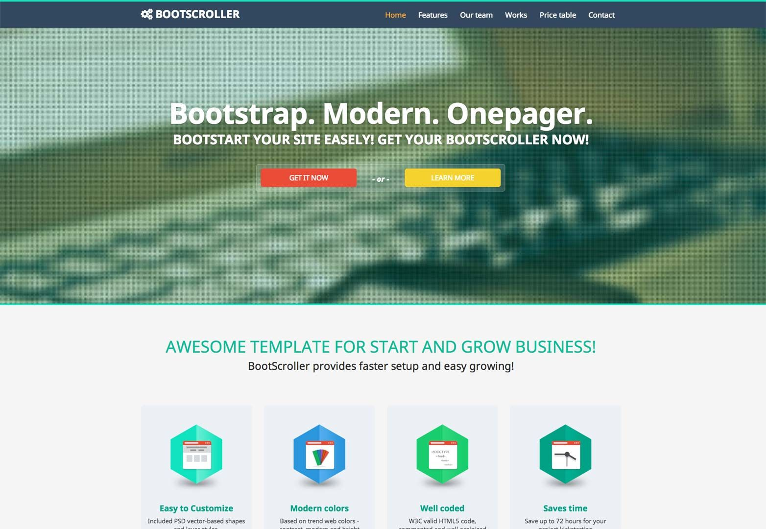 Deal of the week: 10 Twitter Bootstrap Templates | Webdesign ...