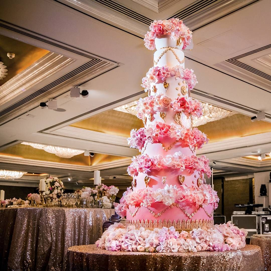 One of my own wedding cakes on The Table of Decoration