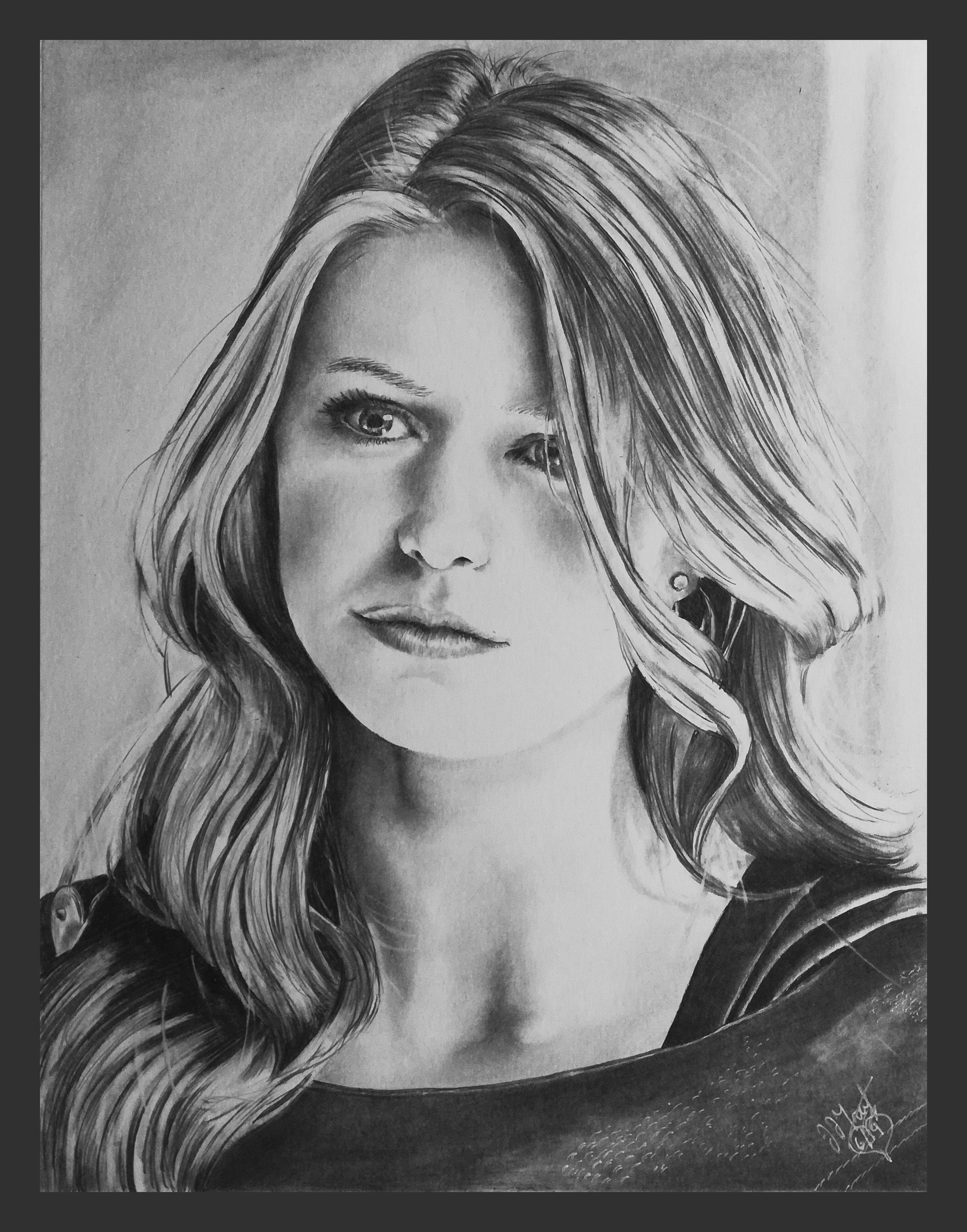 Pencil Portrait Melissa Benoist Supergirl Kara Zor El 5 Portrait Supergirl Pencil Portrait