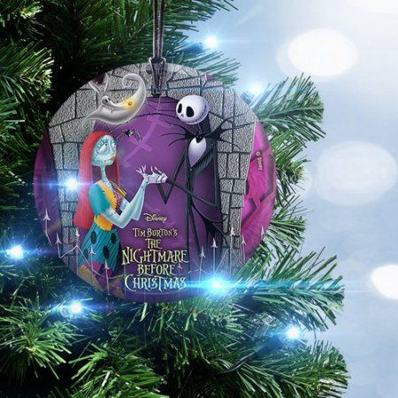 Trend Setters Nightmare Before Christmas Jack and Sally with Zero - the nightmare before christmas decorations