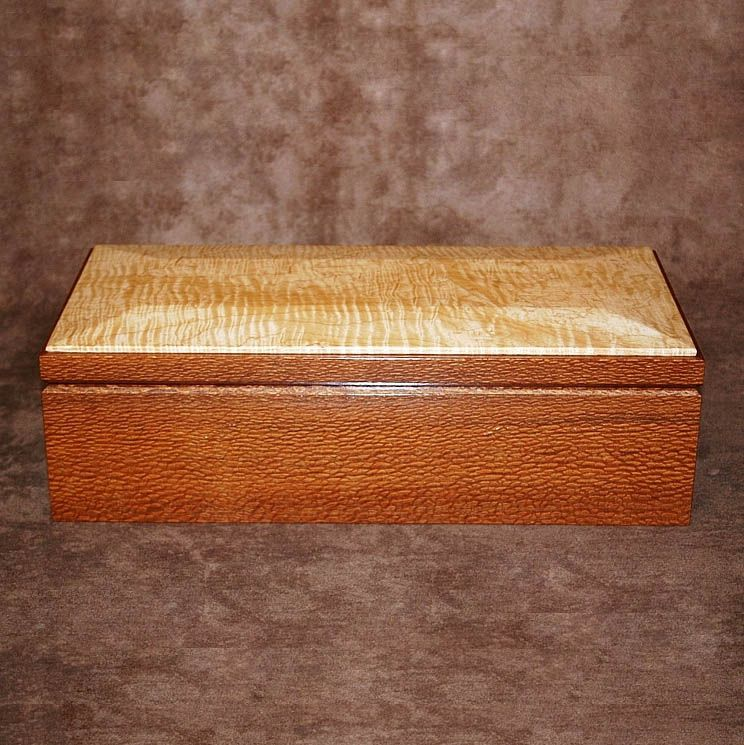 Lacewood Curly Maple Humidor