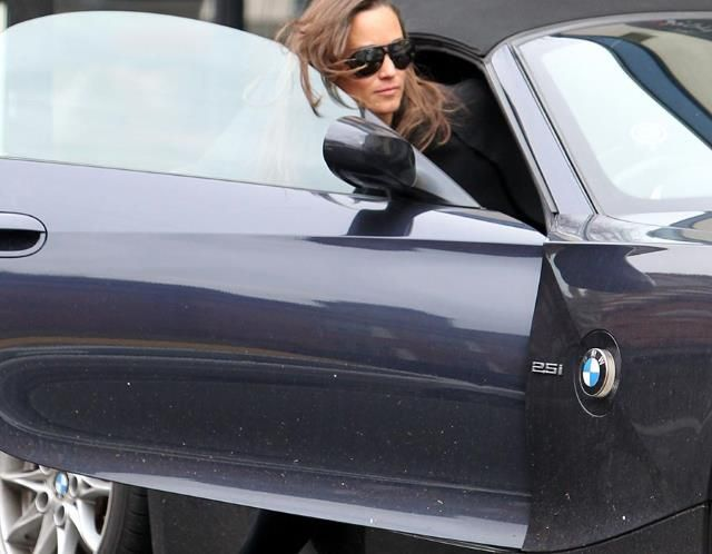 Pippa Middleton - BMW Z4
