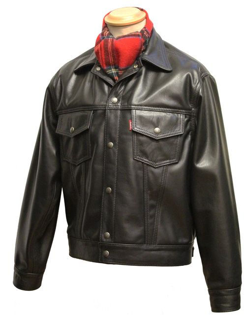1960s Type 3 Leather Jean Jacket - Aero Leathers, Scotland, UK ...
