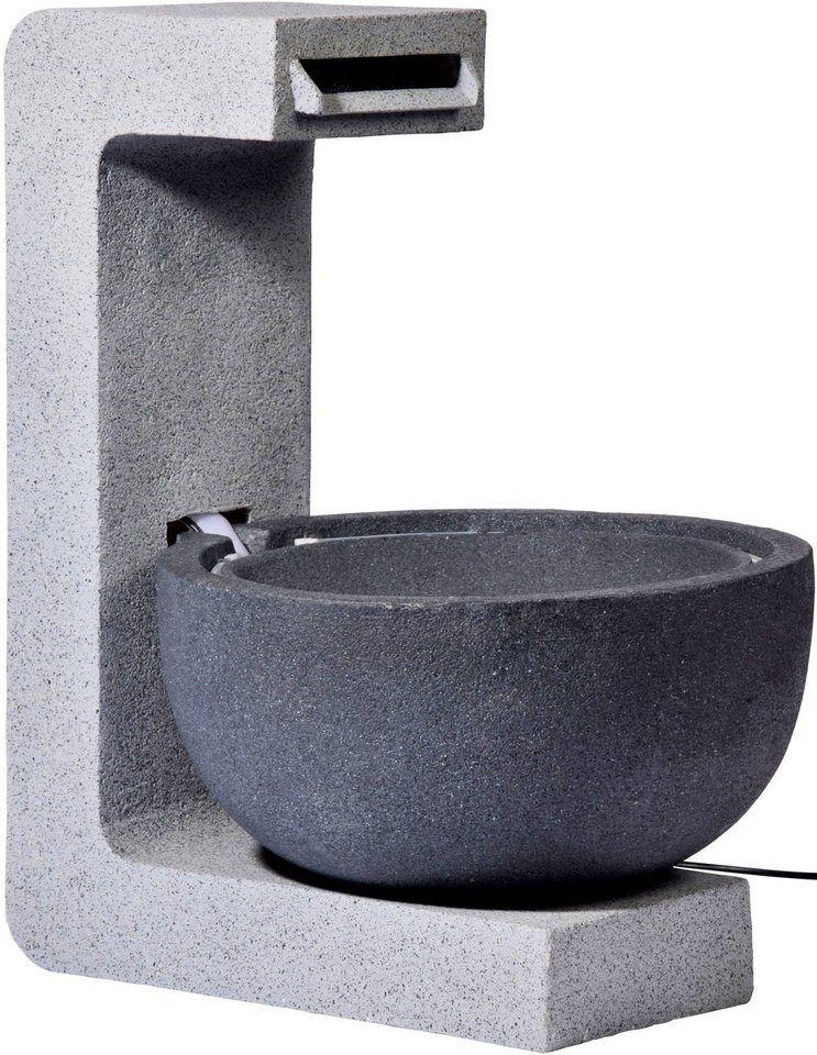 DOBAR Gartenbrunnen , B/T/H 52/44/65 cm Pinterest