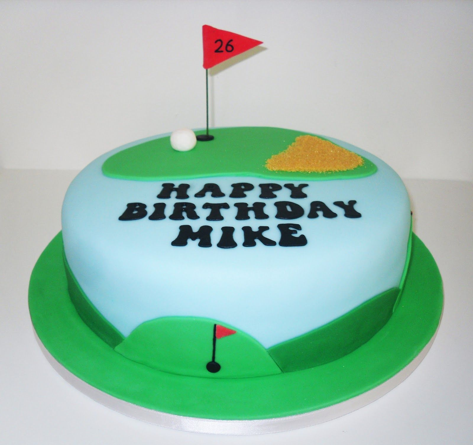 Mikes Golf Cake by The Coloured Bubble Cakery Find us on Facebook