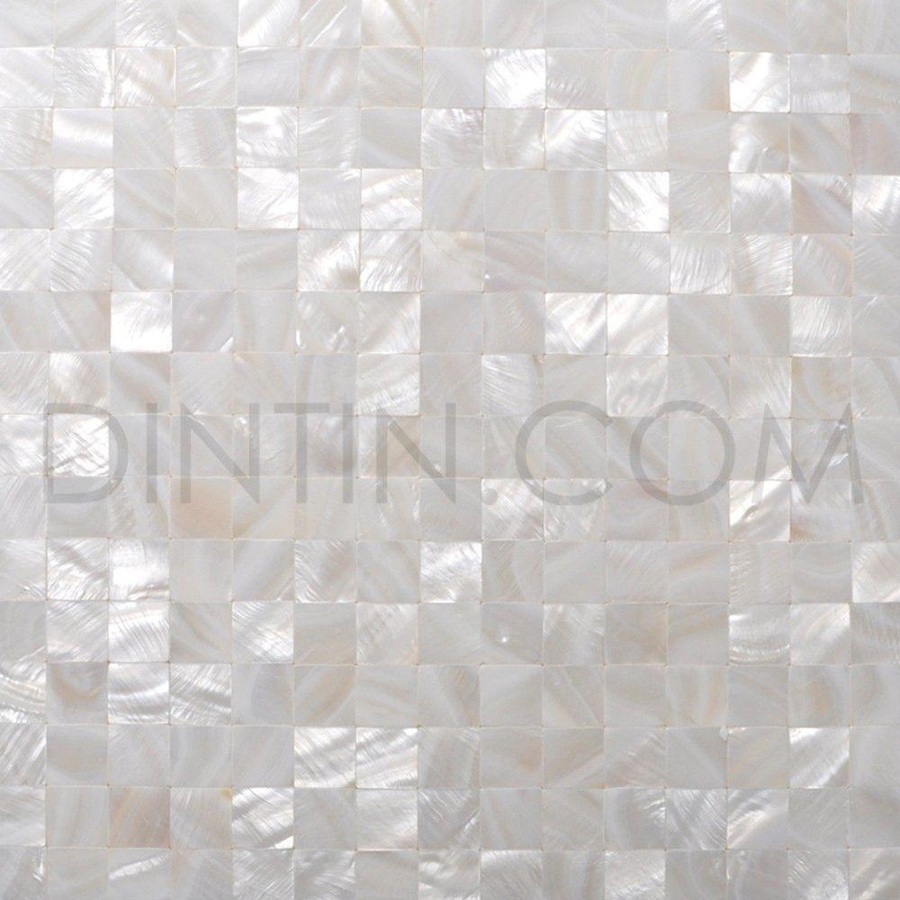 Ongekend Pure White Mother Of Pearl Mosaic Tiles 20X20mm (met afbeeldingen YZ-88