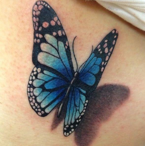 Tatuajes De Mariposas Y Su Significado Tatuaje Pinterest