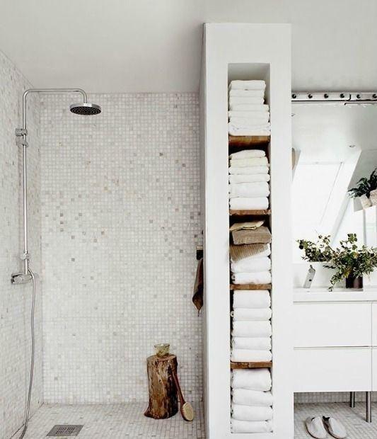 Nischen für Badezimmer - Ideen und Fotos #wetrooms