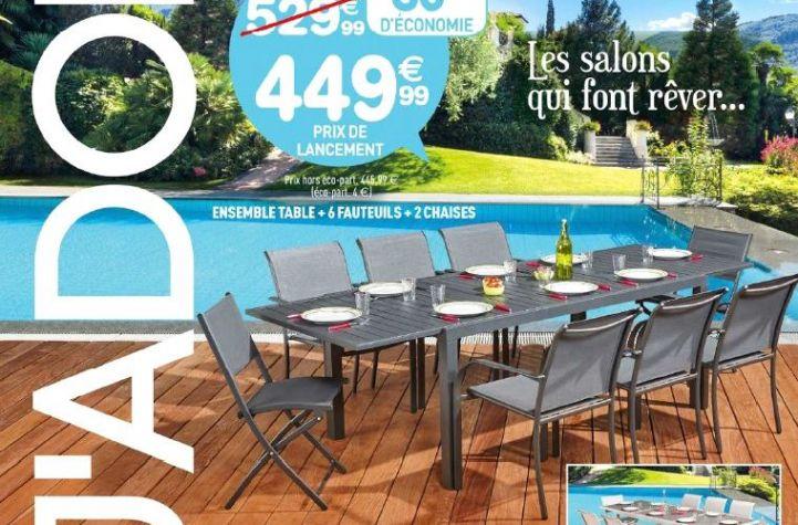 Table Et Chaises De Jardin Centrakor Avec Images Salon De Jardin Table De Jardin Chaise De Jardin