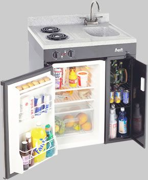 kitchenette appliances the avanti 30 inch mini kitchen is the smallest space available yet - Avanti Appliances