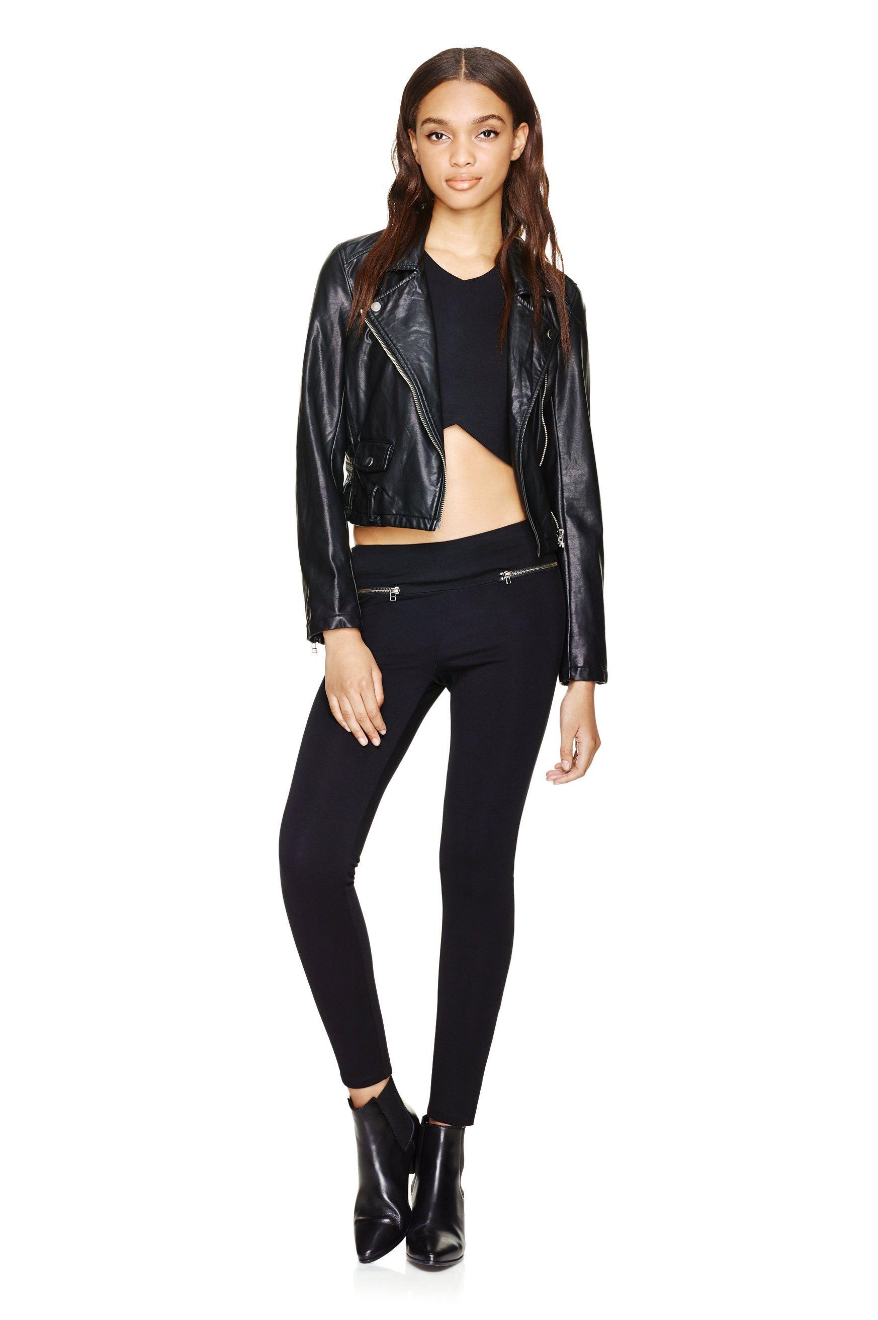 32 Aritzia Finds That Look SO Fancy Faux leather jackets