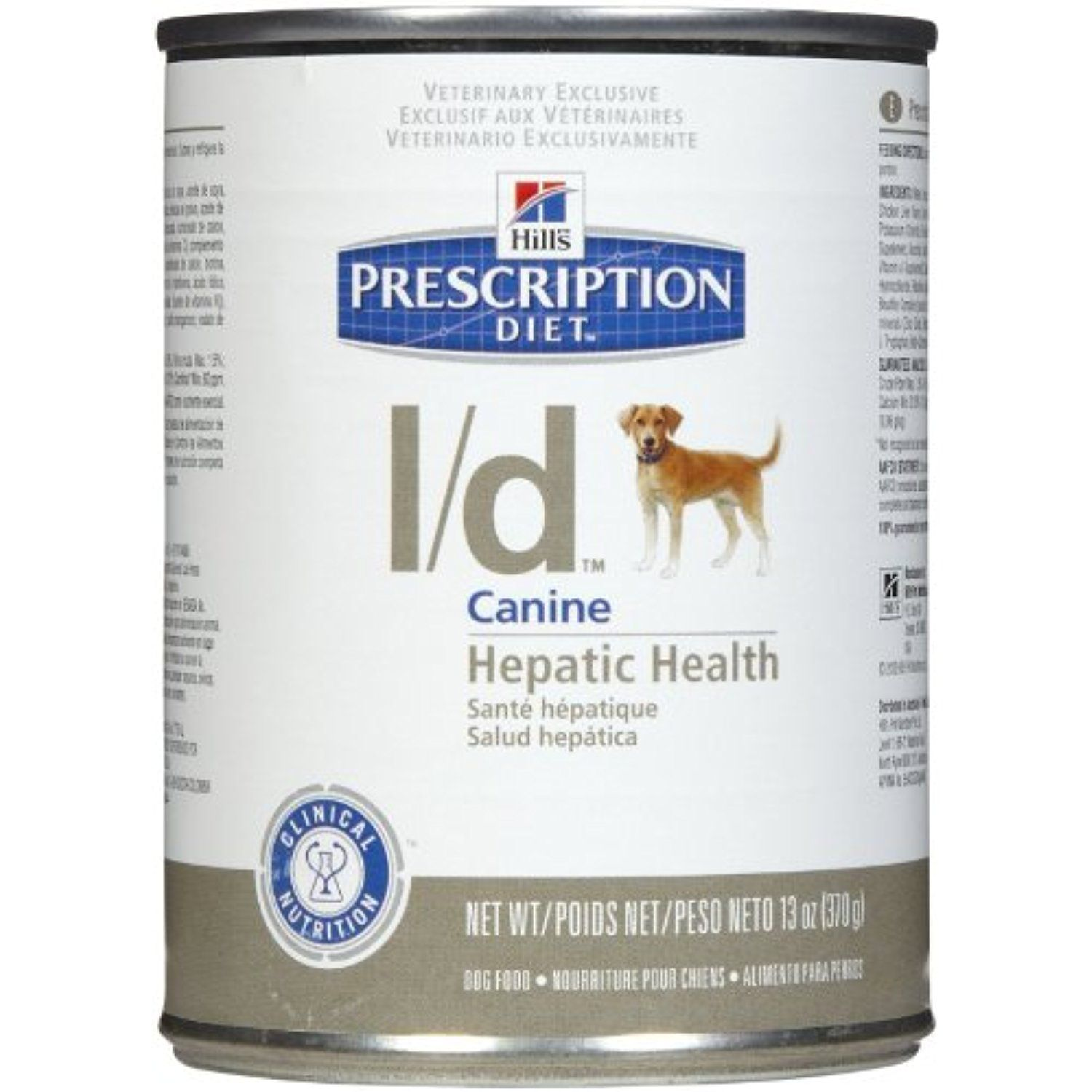 Hill S Prescription Diet L D Hepatic Health Dog Food 12 13 Oz Cans You Can Click Image For More D Canned Dog Food Dog Food Recipes Healthy Dog Food Recipes