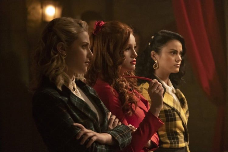 Betty Cooper Cheryl Blossom Veronica Lodge Riverdale Riverdale Cast Big Fun Heathers
