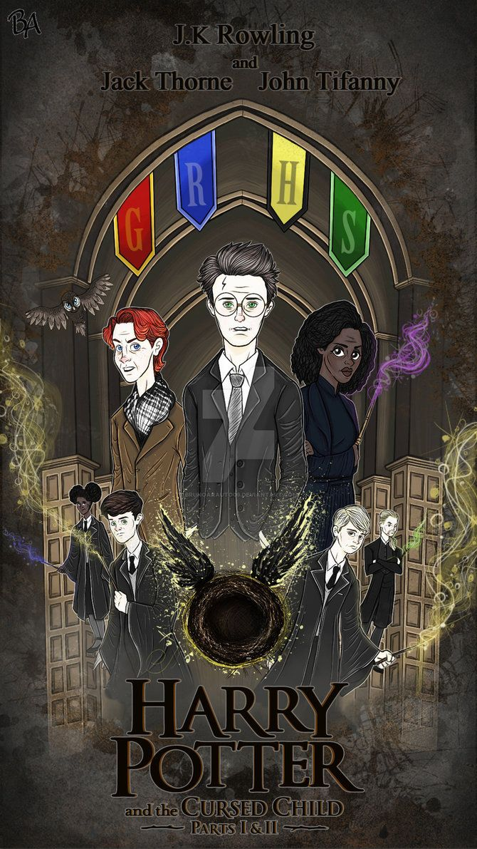 Harry Potter And The Cursed Child By Brunoarauto09 Deviantart Com On Deviantart Harry Potter Cursed Child Harry Potter Cursed Child
