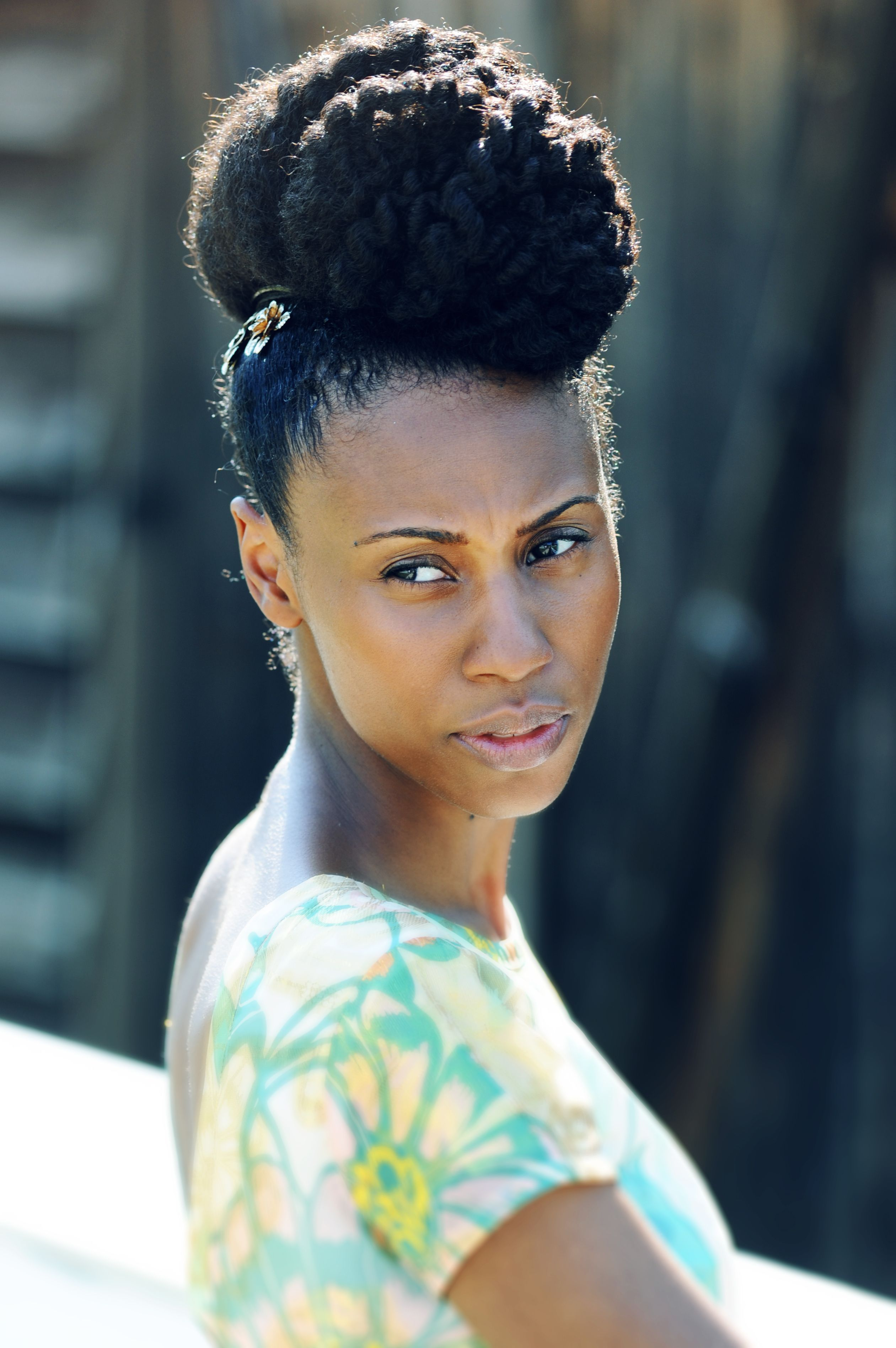 How To Do A Super High Bun On Natural Hair Video All About Hair