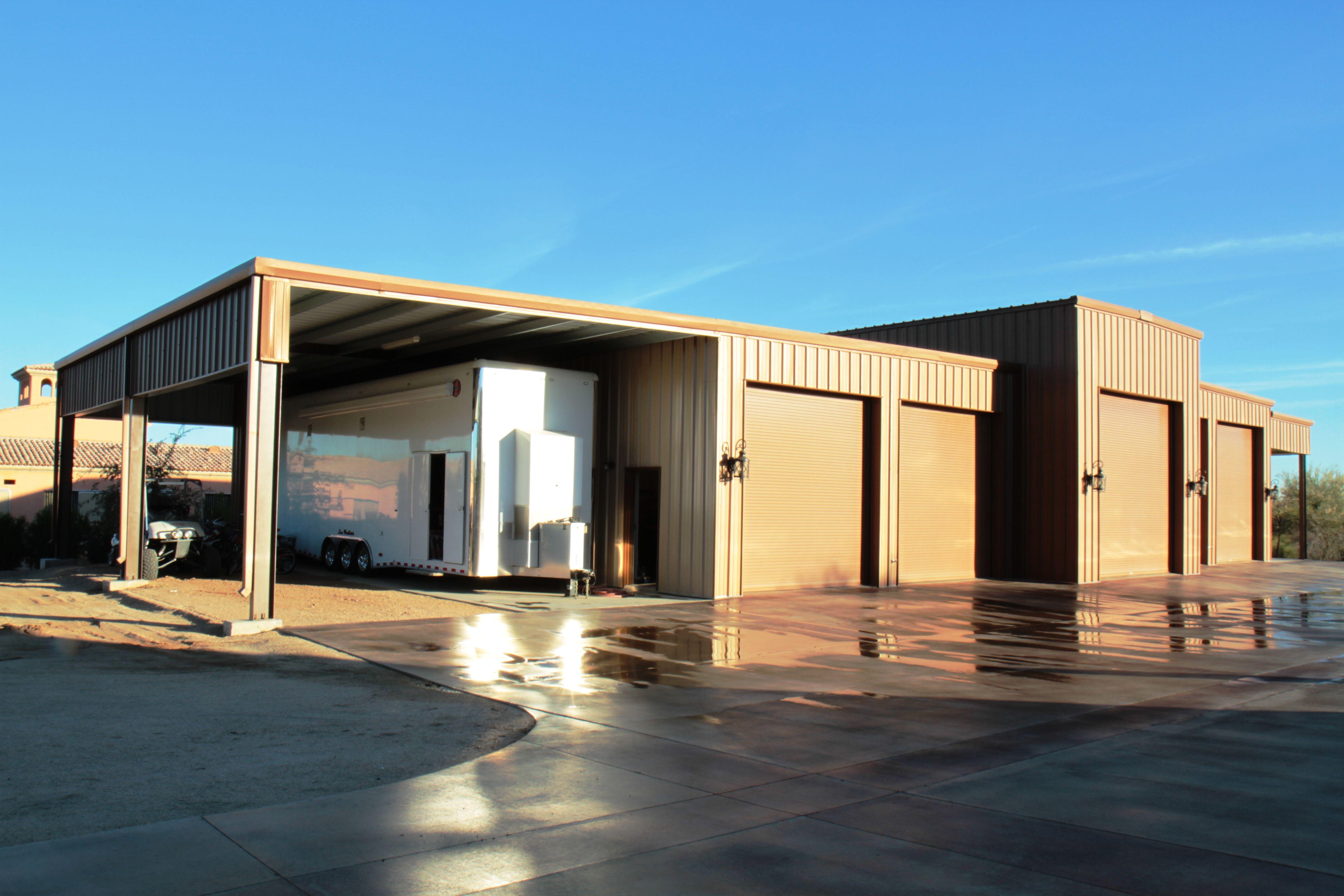 RVGarage Custom Metal buildings, Steel buildings, Building