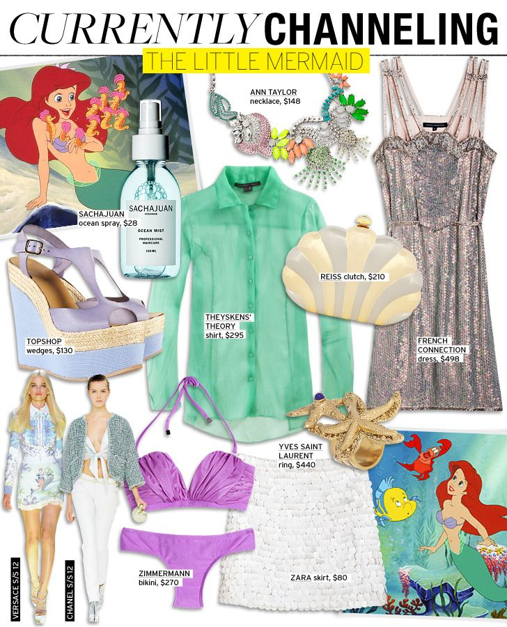 Currently Channeling: The Little Mermaid -  My favorite princess!