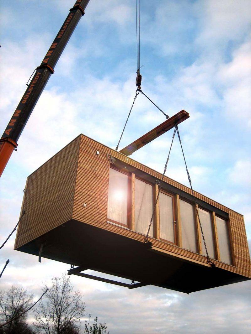 Bauprozess Container Haus Kaufen Architektur Hauser In 2019