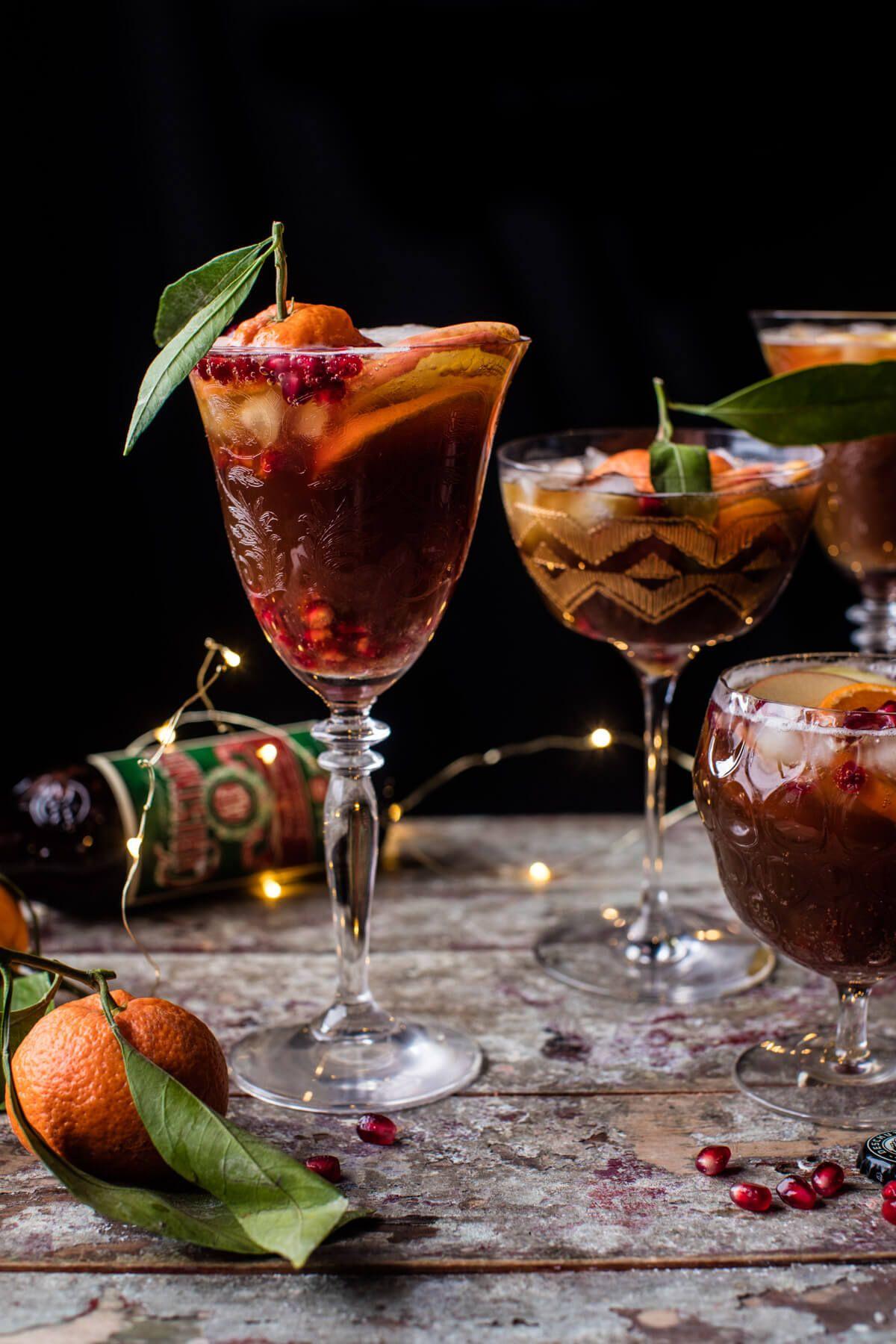 Christmas Ale Sangria | Rezept | Refreshers | Pinterest ...
