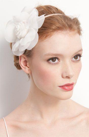 Cara Accessories 'Soft Petals' Headband via @Nordstrom #wedding