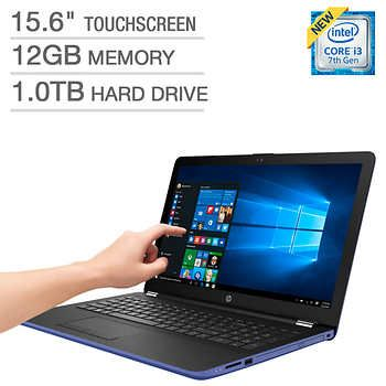 HP 15-bs038cl Touchscreen Laptop - Intel Core i3 - Marine Blue