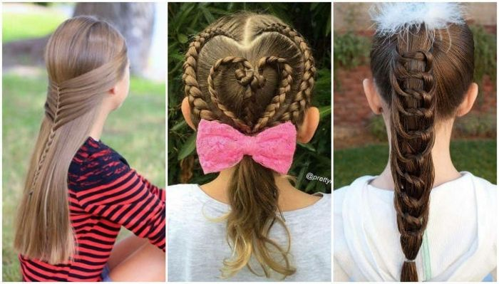 Fotos De Peinados Faciles Y Bonitos Para Ninas