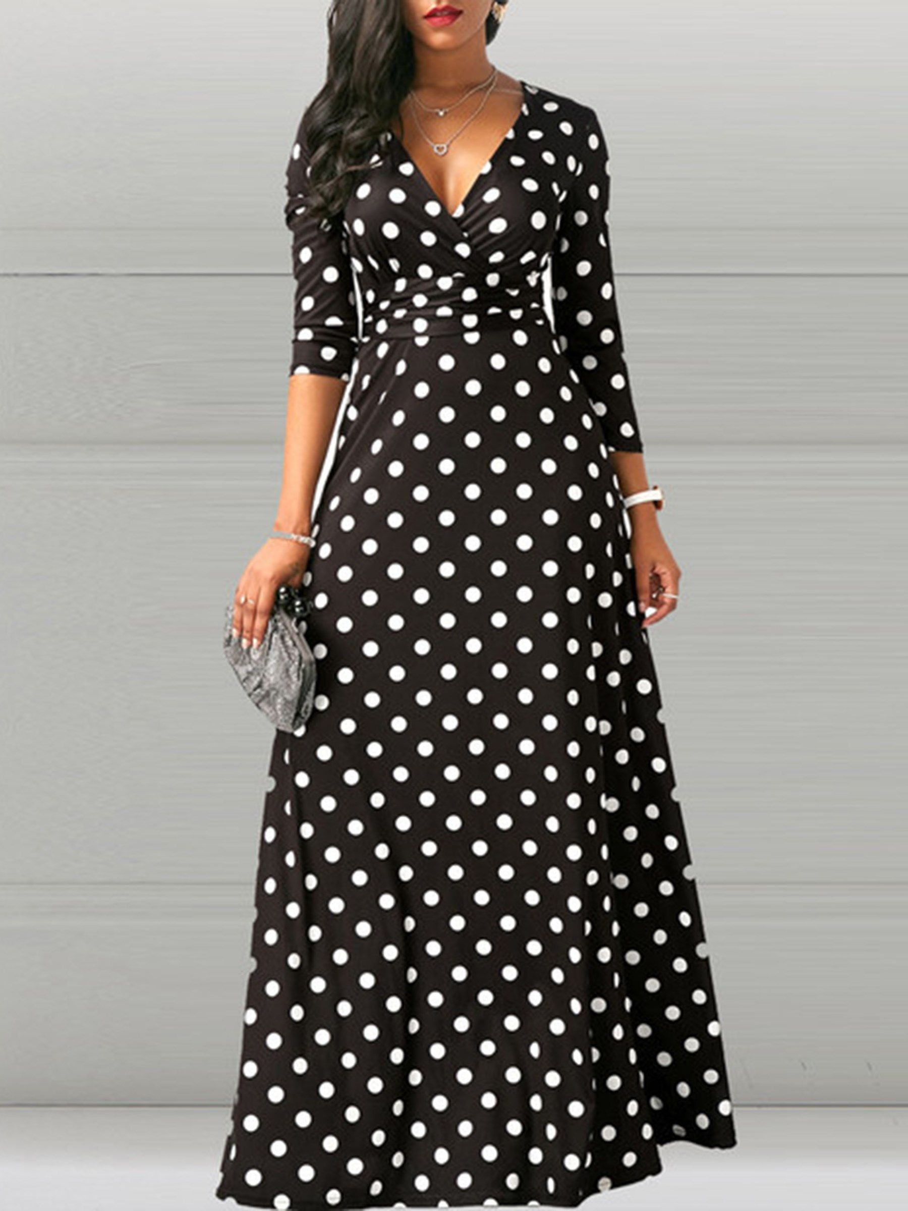 Long Sleeve Cotton Color Block Women S Maxi Dress Maxi Dress Long Dress Outfits Women Long Sleeve Dress [ 2400 x 1800 Pixel ]