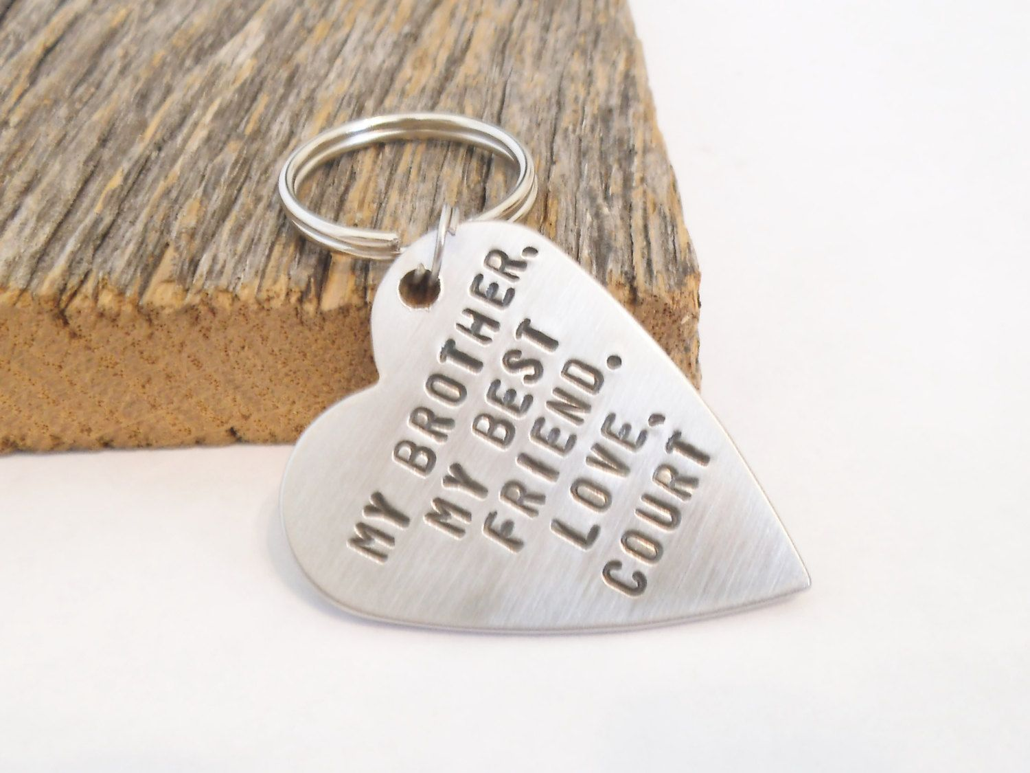 Brother Of The Bride Gift For Birthday Best Friend Keychain Sister Gifts