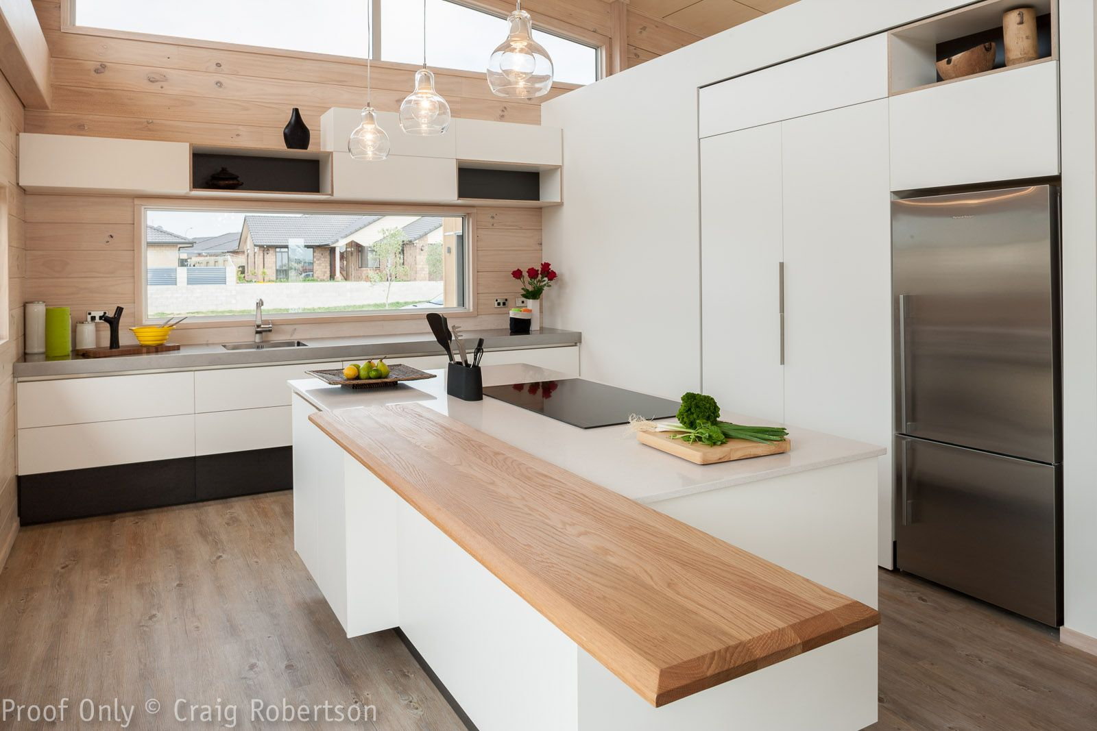 Modern Kitchen with a twist from Lockwood Homes,New ...