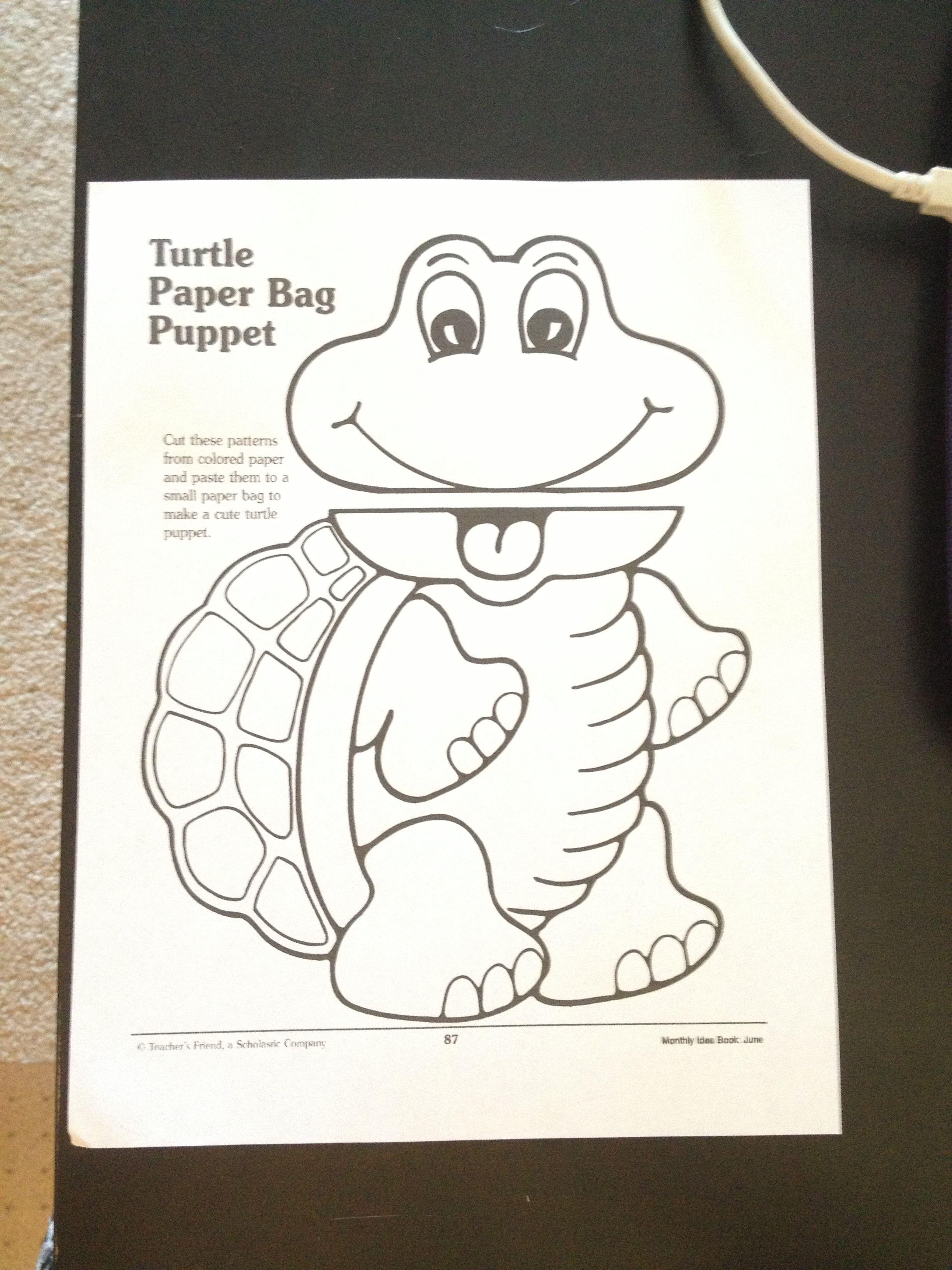 Make A Turtle Printable Worksheet