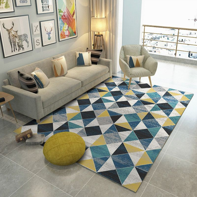 2016 The Latest European Fashion Carpets The Sitting Room The Bedroom Rug Yellow Classical Acr Living Room Carpet Living Room Decor Colors Nordic Living Room