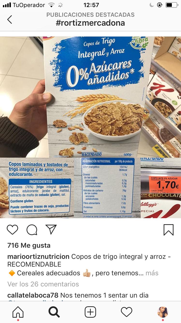Pin De Cari Albaladejo En Mercadona Productos Saludables Nutricional Edulcorantes Tostadas