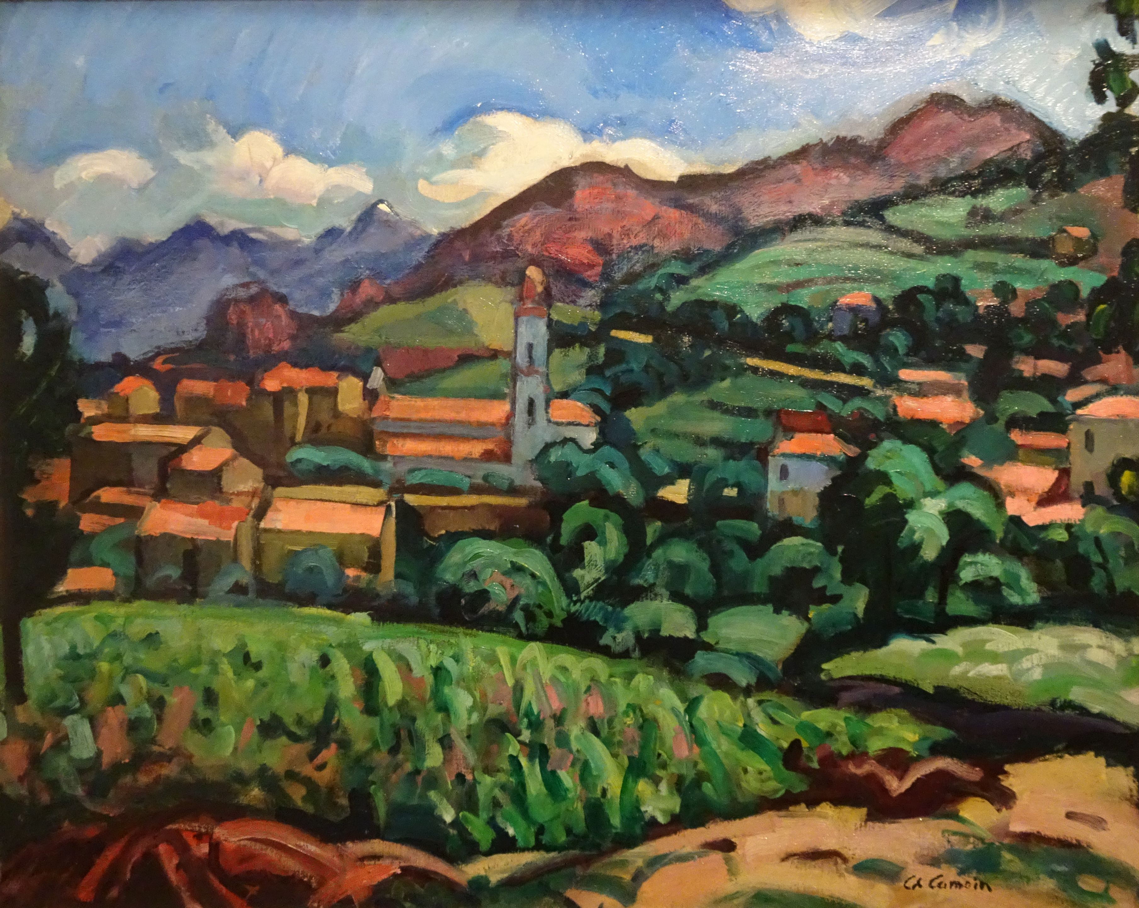 Charles Camoin  Paysage De Corse  1910