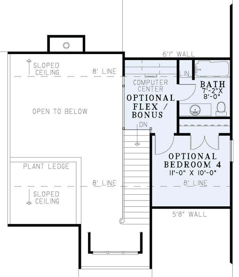 House Plan 1339 MacArthur Boulevard Heritage House Plan