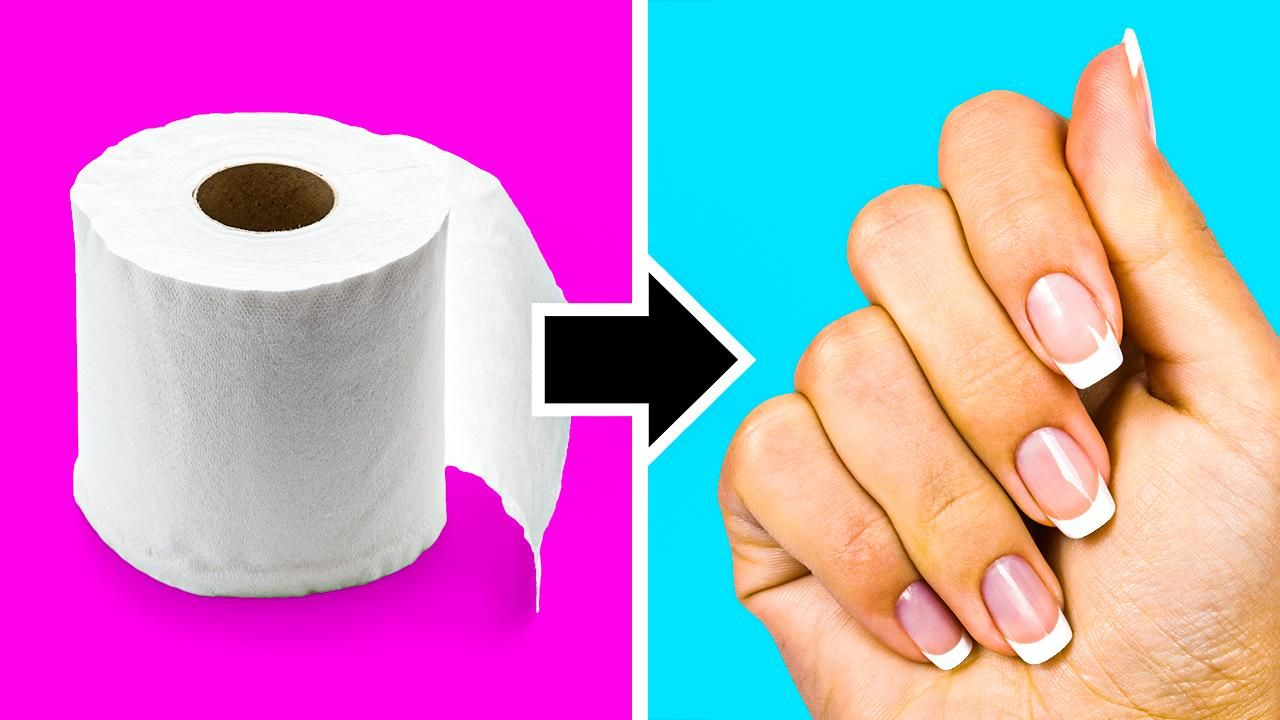 GENIUS LIFE HACKS FOR YOUR NAILS    5-Minute Recipes For Your Manicure