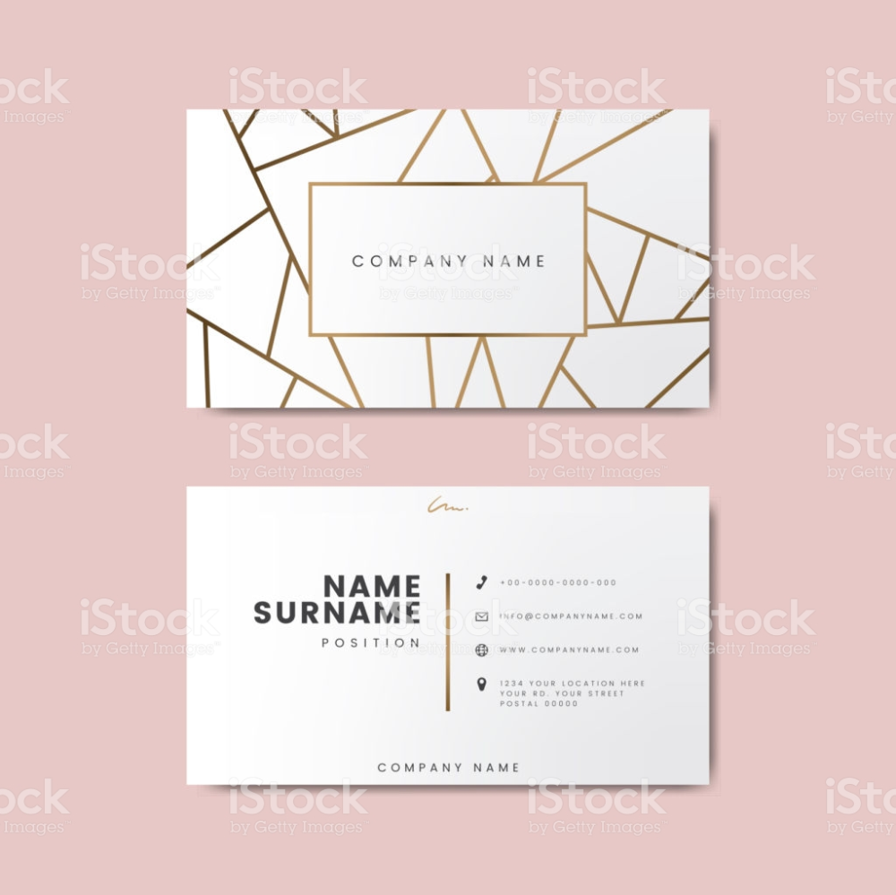 Creative Minimal And Modern Business Card Design Featuring Geometric Graphic Design Business Card Modern Business Cards Modern Business Cards Design