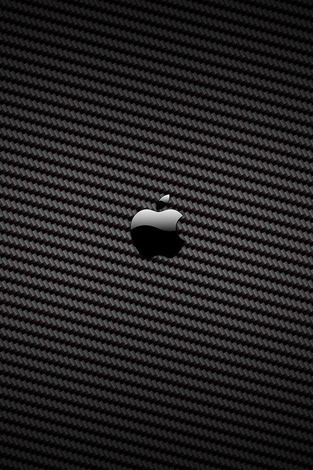 Carbon Fiber Apple Logo Apple Wallpaper Iphone Apple Wallpaper Iphone Wallpaper