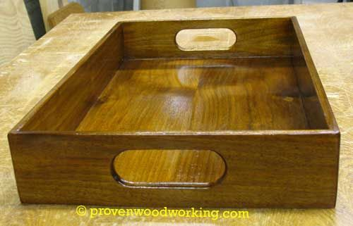 Wood Tray I Could Make This Diy Ideas Pinterest Woodworking
