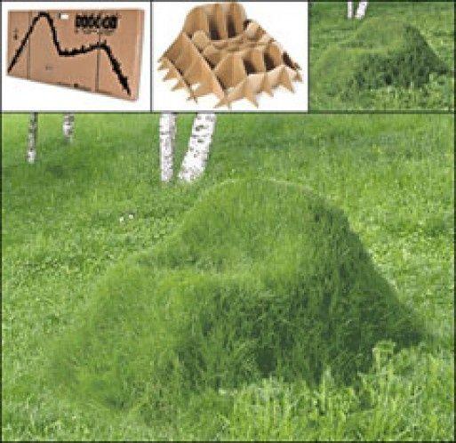 Anleitung für einen Rasen-Stuhl