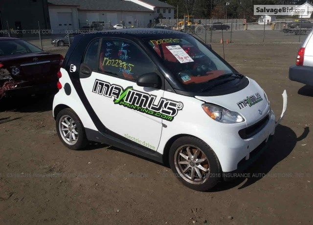 Get The Best Deal On 2008 Smart Fortwo At Salvagebid Cars