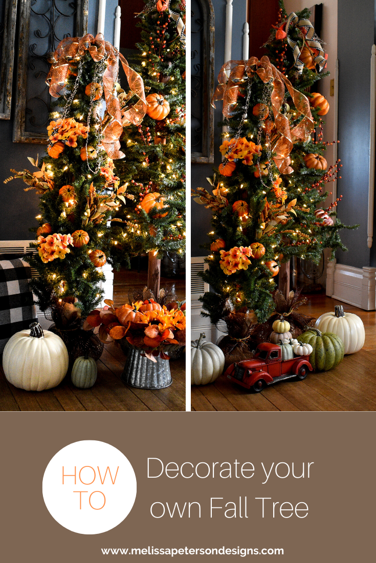 Fall trees! An easy peasy way to decorate for Fall!