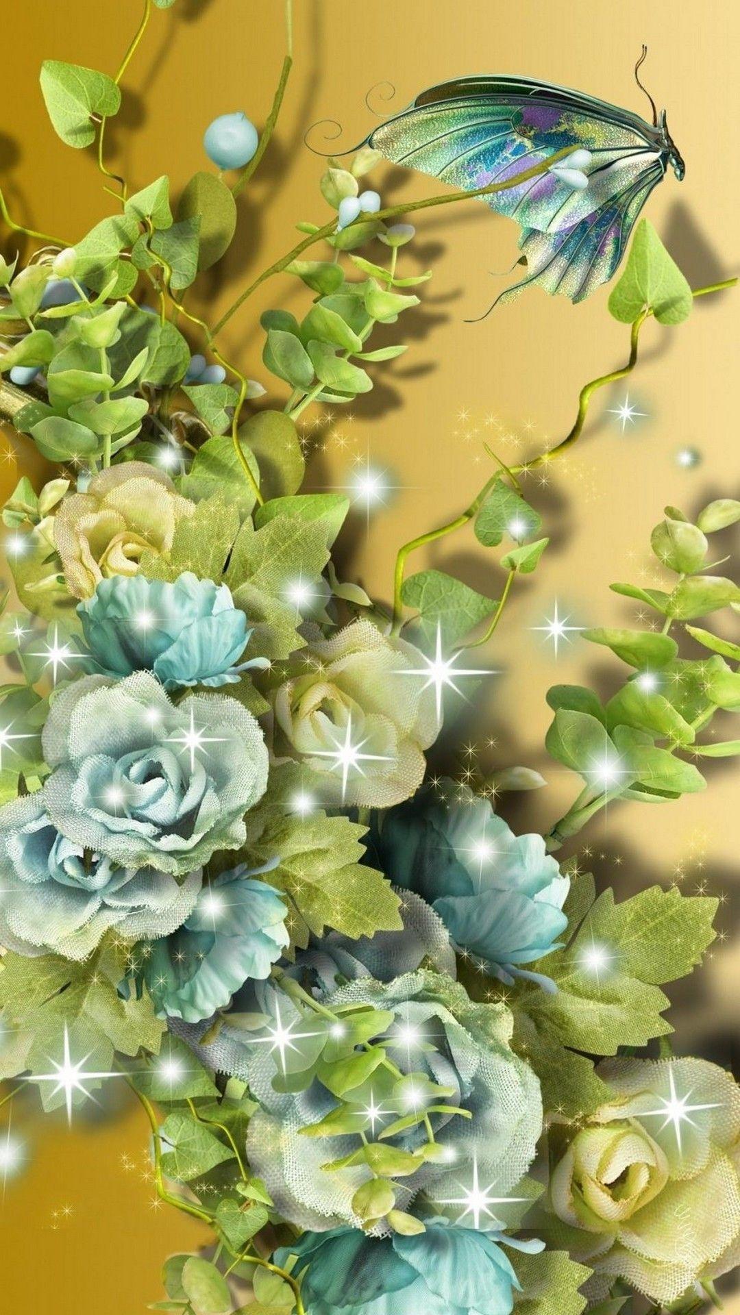 3d Flower Cellphone Wallpaper With Images Flower Wallpaper