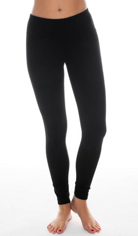 Power Flex Yoga Pants - Black