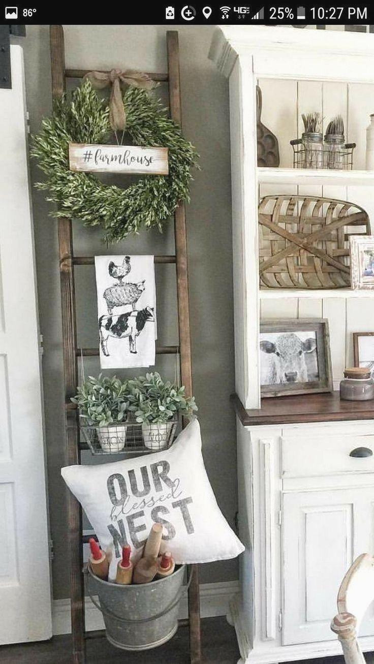 78 Rustikales Bauernhaus Wohnzimmer Design und Dekor-Ideen für Ihr Zuhause | Living room decor ...