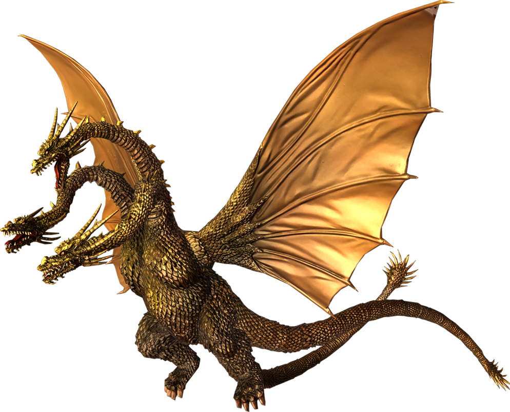 Godzilla The Video Game King Ghidorah By Sonichedgehog2 Godzilla Movie Monsters Kaiju