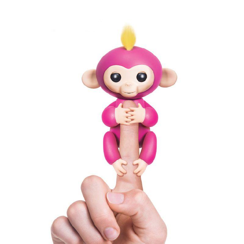 6 couleur pas de fonction alevins bb singes doigt lings smart singe jouets color jouet pour enfant